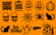 Trick or Treat BV font by Blue Vinyl - FontSpace