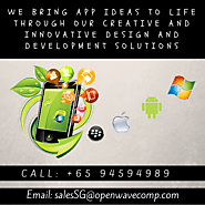 Mobile Application Development Companies Singapore