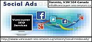 Social Media Advertising Vancouver BC Canada