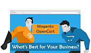 Magento vs OpenCart - What's Best for Your Business?