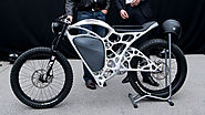 This Motorcycle Was Printed From Aluminum Powder