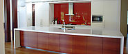 Skandiform | Modern Galley Style Kitchen | Custom Joinery Cabinet Making Gold Coast