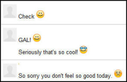 Smiley Faces and Emoticons