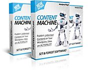 WP Content Machine review in particular - WP Content Machine bonus