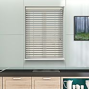 SATINWOOD COVE 12V BATTERY POWERED ELECTRIC WOODEN BLINDS