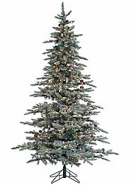 Kohl's - Sterling 7.5' Lightly Flocked McKinley Pine Artificial Christmas Tree