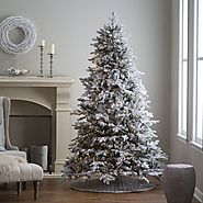 Best Flocked Fake Christmas Trees 2016