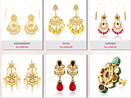 Fashion Earrings Online - Pookaari