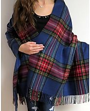Warm Winter Scarves Shawls Wraps On Sale at YoursElegantly