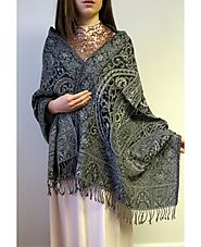 Wondrous Winter Shawl Wrap Divine collection - YoursElegantly