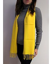 Warm Winter Cashmere Scarves Shawls at YoursElegantly