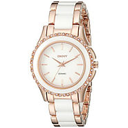 DKNY Women's NY8821 WESTSIDE Rose Gold Watch Review