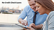 No Credit Check Loans- Purposeful Funds to Lower Creditors!