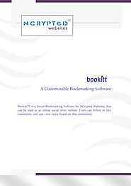 Bookitt - A Customizable Bookmarking Software