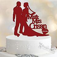 Giftware Direct: Personalised Cake Toppers