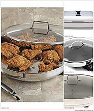 Stainless Steel Electric Skillets