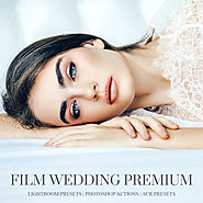 Film wedding lightroom presets, photoshop actions and acr presets