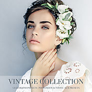 Vintage lightroom presets, photoshop actions and acr presets