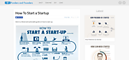 Funders and Founders: How to Start a Startup | Infographic