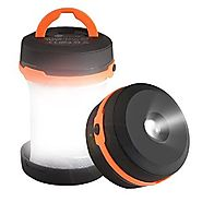 Camping Lantern TaoTronics Collapsible Led Lantern flashlight, Battery Operated Camping Gear lights
