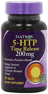 Natrol 5-HTP TR Time Release, 200mg, 30 Tablets:
