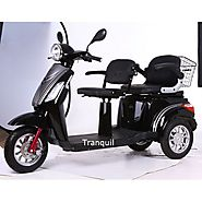 Get 2 Seater Electric Moped at The Electric Motor Shop