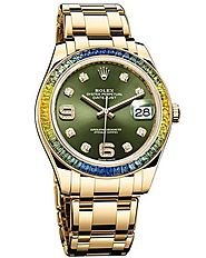 Replique Montre Rolex Oyster Perpetual Datejust Pearlmaster 39 86348SABLV