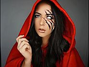 Halloween Makeup Tutorial inspired by the little Red Riding Hood