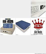 The Best Queen Air Mattresses With Built In Pump Reviews | Sleeping With Air