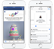 Facebook Adds New Birthday Video Tool to Prompt More Personal Sharing