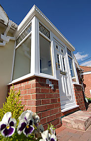 PVCu windows with double glazing are low maintenance