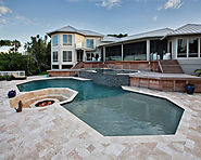 First Quality French Pattern Pool Deck At Unbeatable Price From Stone-Mart.
