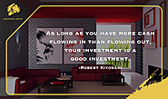 Your Investment is a success when you exceed the wealth that went out your pocket. For Property buying Advice and Con...