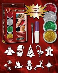 Glitter Tattoo Kit | Shimmer Body Art