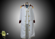 One Piece Monkey D Garp Cosplay Costume Marine Uniform