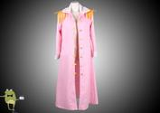 One Piece Cosplay Captain Tashigi Costume Marine Cape