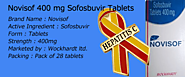 Indian #Sofosbuvir Novisof Tablets | #Novisof 400 mg | Wockhardt #HCV Drugs