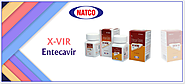 X-VIR 1mg Entecavir Tablets | Natco Entecavir Price India | Natco X-Vir Entecavir