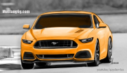Spy shots of 2015 Ford Mustang give info for a render