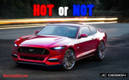 Hot or Not? The Latest 2015 Mustang Rendering