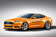 2015 Ford Mustang rendered by Car and Driver | Mustangs Daily