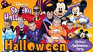 Mickey's Halloween Party at Disneyland 2015 + Candy Haul!