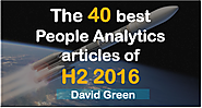 The 40 best HR Analytics articles of H2 2016