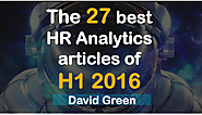 The 27 best HR Analytics articles of H1 2016