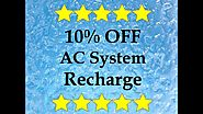 AC Recharge in Santa Maria- 10% OFF Online Deal- Air Conditioning Service in Santa Maria