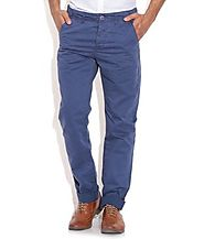 Being Human Blue Regular Formals Trousers And Chions