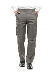 Harvest Grey Black mens Formal Trousers
