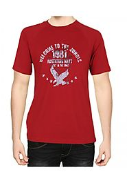 Unique Mens Red t shirts aberdeen leicester city