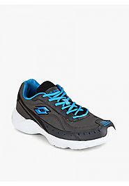 Lotto Mens Rapid Grey Sport Shoes