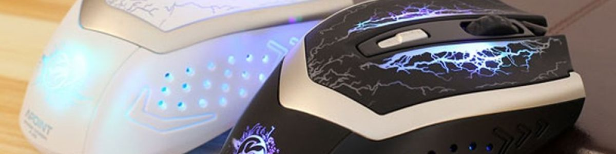 Headline for Best Wireless Gaming Mice with LED Lights Under 50